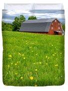 New England Landscape Duvet Cover