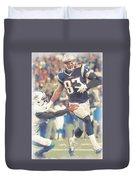 New England Patriots Rob Gronkowski 3 Duvet Cover