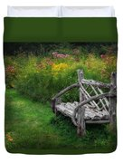 New England Summer Rustic Duvet Cover