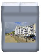 New Flats Overlooking Sandown Esplanade Duvet Cover