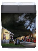 New Freedom Pa Steam Train Duvet Cover