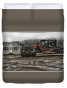 New Hampshire Central Railroad Central Office Duvet Cover