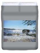 New Hampshire Lake Gale Duvet Cover