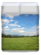 New Hampshire Mountain Meadow Duvet Cover