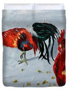 New Harmony Roosters Duvet Cover