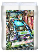 New Holland Workmaster 75 Tractor  2 Duvet Cover