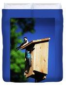 New Home Inspection Duvet Cover