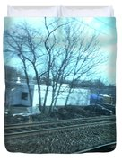 New Jersey From The Train 4 Duvet Cover