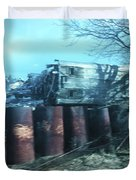 New Jersey From The Train 5 Duvet Cover