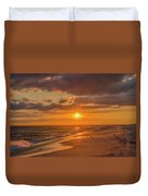 New Jersey Has The Best Sunsets - Cape May Duvet Cover