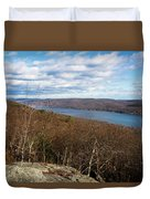 New Jersey Mountaintop View Duvet Cover