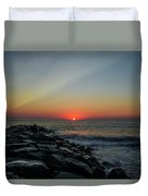 New Jersey Shore - Townsends Inlet Duvet Cover