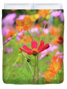 New Jersey Wildflowers Duvet Cover