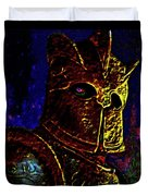 New Knight Of The King's Guard. Mask. Duvet Cover