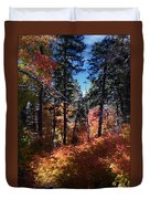 New Mexico Foliage Duvet Cover