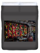 New Mexico Hanging Peppers Duvet Cover