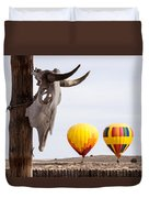 New Mexico Morning Duvet Cover