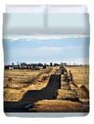 New Mexico Road Duvet Cover