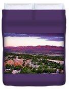 New Mexico Sunset Duvet Cover