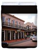New Orleans Bourbon Street 2004 #43 Duvet Cover