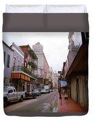 New Orleans Bourbon Street 2004 #45 Duvet Cover