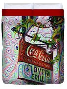 New Orleans - Clover Grill Duvet Cover