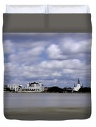 New Orleans From Algiers Point - In Color Duvet Cover