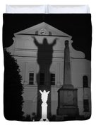 New Orleans Ghosts Duvet Cover