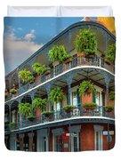 New Orleans House Duvet Cover