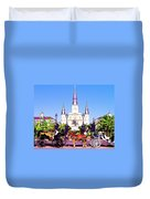 New Orleans Duvet Cover