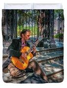 New Orleans Musician - Chris Craig Duvet Cover