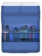 New Orleans Panorama Duvet Cover