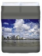 New Orleans Panoramic Duvet Cover