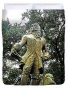 New Orleans Statues 1 Duvet Cover