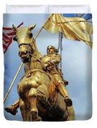 New Orleans Statues 13 Duvet Cover
