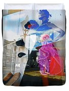 New Orleans Statues 9 Duvet Cover