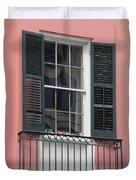 New Orleans Windows 4 Duvet Cover