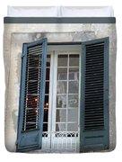 New Orleans Windows 5 Duvet Cover
