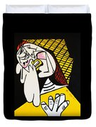 New Picasso The Weeper 2 Duvet Cover
