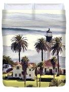 New Point Loma Lighthouse Duvet Cover