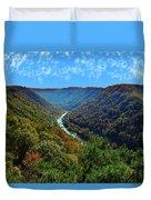 New River Gorge - Autumn Duvet Cover