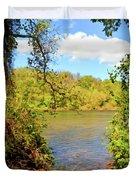 New River Views - Bisset Park - Radford Virginia Duvet Cover