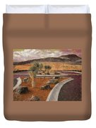New Subdivision View Duvet Cover