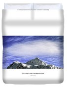 New Tomorrow Today Duvet Cover