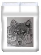 Wolf. Duvet Cover by Cynthia Adams