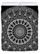 New Vision Black And White Duvet Cover