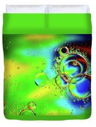 New Year Bubbles Duvet Cover