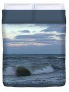 New Years Wave Splash 2 Duvet Cover
