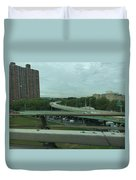 New York 3 Duvet Cover