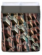New York Apartments  Duvet Cover